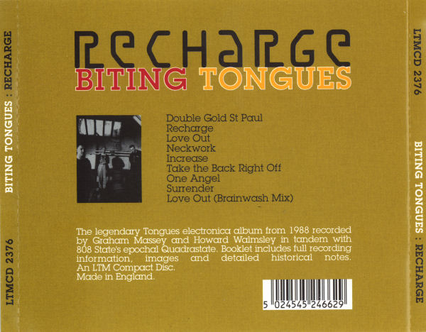 Biting Tongues - Recharge